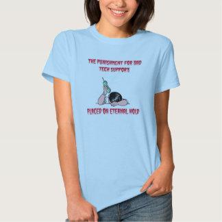 La camiseta de las mujeres eternas del asimiento playeras
