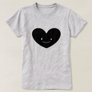 La camiseta de las mujeres felices del corazón