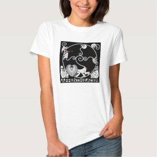 La camiseta de las mujeres: Jugendstil - Playera