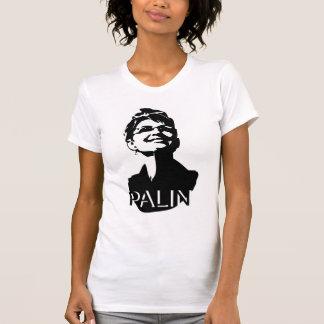 La camiseta de las mujeres ligeras de Palin