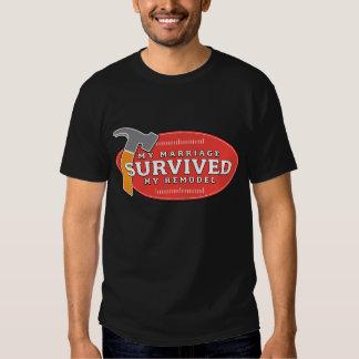 La camiseta de las mujeres - mi boda sobrevivió mi remeras