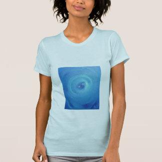 La camiseta de las mujeres - ojo del arte