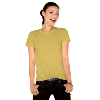 La camiseta de las mujeres orgánicas