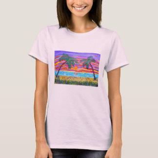 La camiseta de las mujeres - paraíso tropical