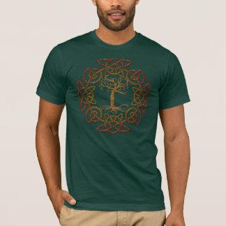 La camiseta de los Árbol-Amantes célticos del