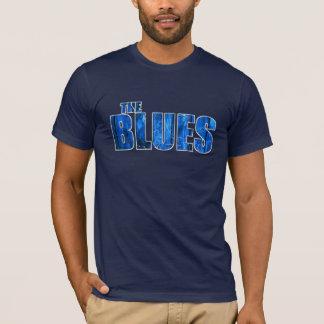 La camiseta de los azules (vea por favor la