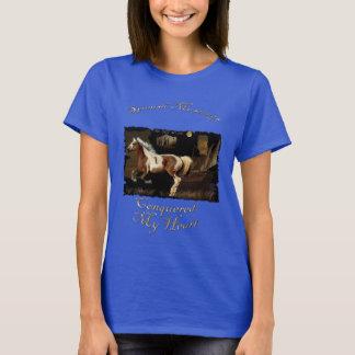 La camiseta de los Caballo-amantes españoles del