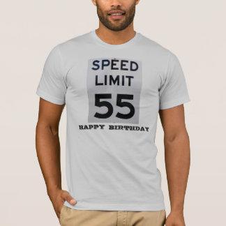 La camiseta de los Cumpleaños-Hombres del límite