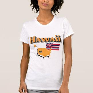 La camiseta de los Hawaii-Womens