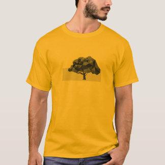 La camiseta de los hombres abstractos