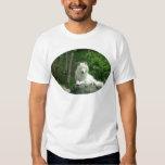 La camiseta de los hombres árticos del lobo playera