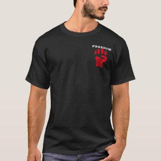 La camiseta de los hombres ateos de la libertad