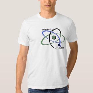 La camiseta de los hombres atómicos del consuelo poleras