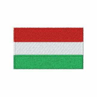 La camiseta de los hombres bordados bandera de