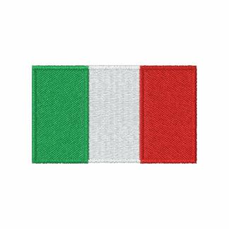 La camiseta de los hombres bordados bandera de Ita