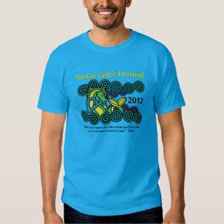 La camiseta de los hombres célticos del festival polera