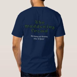 La camiseta de los hombres (colores oscuros) camisas