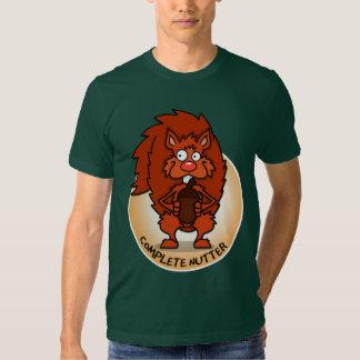 La camiseta de los hombres completos de Nutter Camisas