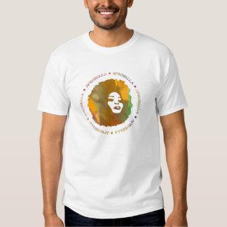 La camiseta de los hombres de Afrobella Polera