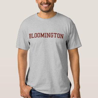 La camiseta de los hombres de Bloomington Playeras