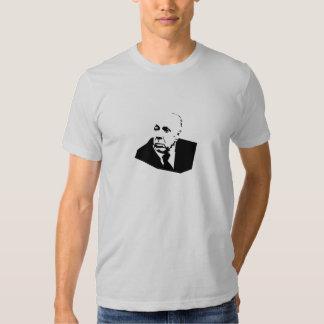 La camiseta de los hombres de Borges Playera
