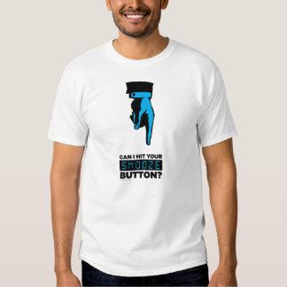 La camiseta de los hombres de botón de la cabezada poleras