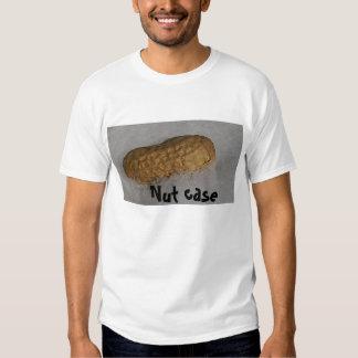 La camiseta de los hombres de caja de nuez remeras