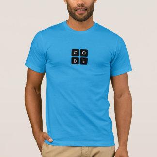 la camiseta de los hombres de Code.org