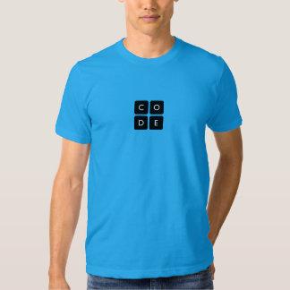 la camiseta de los hombres de Code.org Camisas