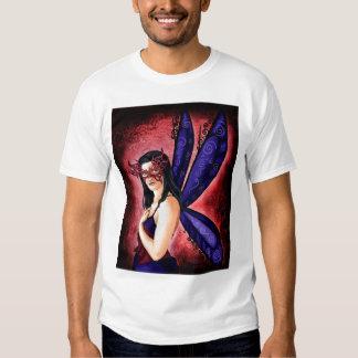 La camiseta de los hombres de Fae de la mascarada Playera