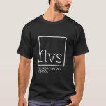 La camiseta de los hombres de FLVS (colores
