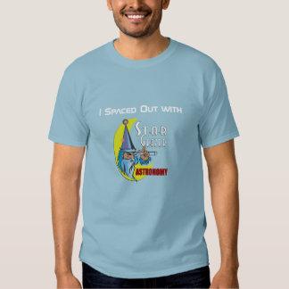La camiseta de los hombres de la astronomía de camisas