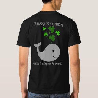 La camiseta de los hombres de la ballena del polera