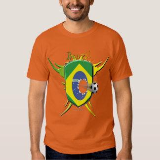 La camiseta de los hombres de la brecha del fútbol playera