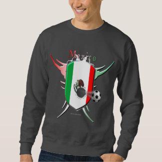 La camiseta de los hombres de la brecha del fútbol sudaderas encapuchadas