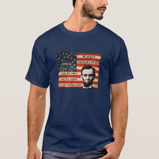 La camiseta de los hombres de la campaña de