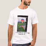 La camiseta de los hombres de la reunión del globo
