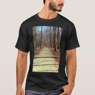 La camiseta de los hombres de la tarde del