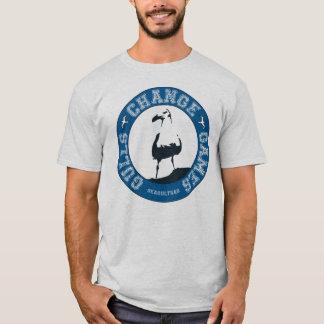 La camiseta de los hombres de los juegos del