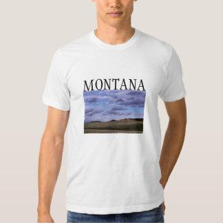 La camiseta de los hombres de Montana Poleras