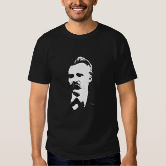 La camiseta de los hombres de Nietzsche Playera