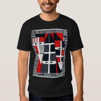 La camiseta de los hombres de Selknam 02 Remeras