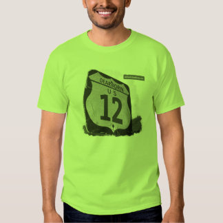 La camiseta de los hombres de US-12 Dearborn Playera