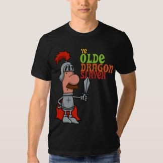 La camiseta de los hombres del asesino del dragón poleras