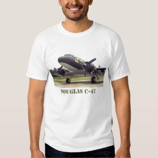 La camiseta de los hombres del C-47 de Douglas Playera