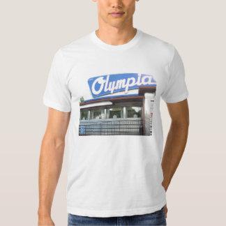 La camiseta de los hombres del comensal de Olympia Polera