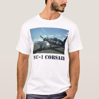 La camiseta de los hombres del corsario F4U-1