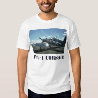 La camiseta de los hombres del corsario F4U-1 Playera
