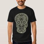 La camiseta de los hombres del cráneo del azúcar remeras