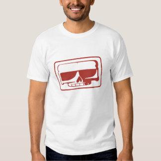 La camiseta de los hombres del cráneo del sello de remeras